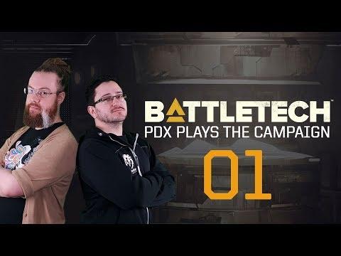 BATTLETECH - PDX plays the campaign - Part 1
