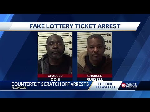 Mary - Fake Lottery Ticket Lands 2 Mississippi Men in Jail