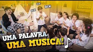 DESAFIO: UMA PALAVRA, UMA MÚSICA! ⚽#CopaDoPijama - Ep 02   Isaac do VINE