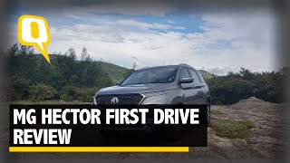 MG Hector Review: How Does It Feel To Drive This Feature Rich SUV?