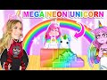 SURPRISING SUNNY With A MEGA NEON UNICORN In Adopt Me! (Roblox)