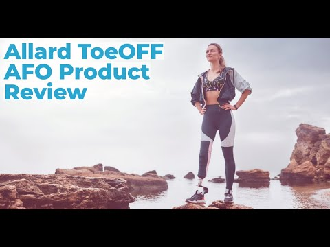 Anchor O&P - Allard ToeOFF AFO Product Review