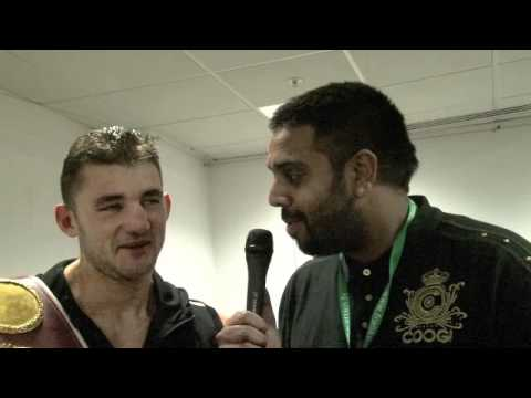 POST-FIGHT INTERVIEW WITH NATHAN CLEVERLY / CLEVERLY v BELLEW / iFILM LONDON
