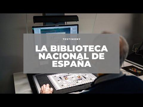 i2S DigiBook, Recorriendo el interior de la Biblioteca Nacional de España