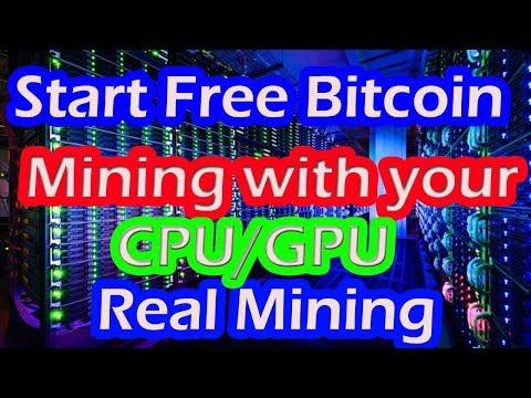 How To Start CPU And GPU Bitcoin Mining Fast|| Bitcoin Mining