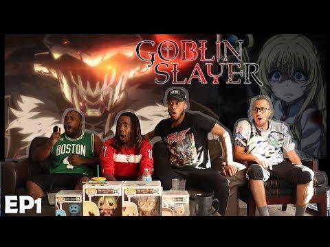 GOBLIN SLAYER EPISODE 1 REACTION/REVIEW TOO RAW!!