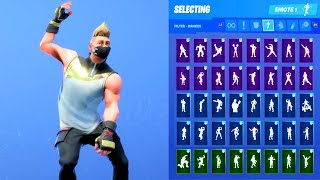 DRIFT STAGE 1 SKIN SHOWCASE WITH ALL FORTNITE DANCES & EMOTES