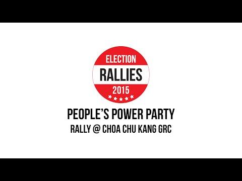 GE2015 : PPP @ CHOA CHU KANG GRC. 7 Sept.