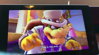 First episode of super Mario odyssey on the Nintendo switch