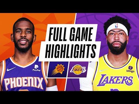 SUNS at LAKERS   NBA PRESEASON FULL GAME HIGHLIGHTS   October 10, 2021