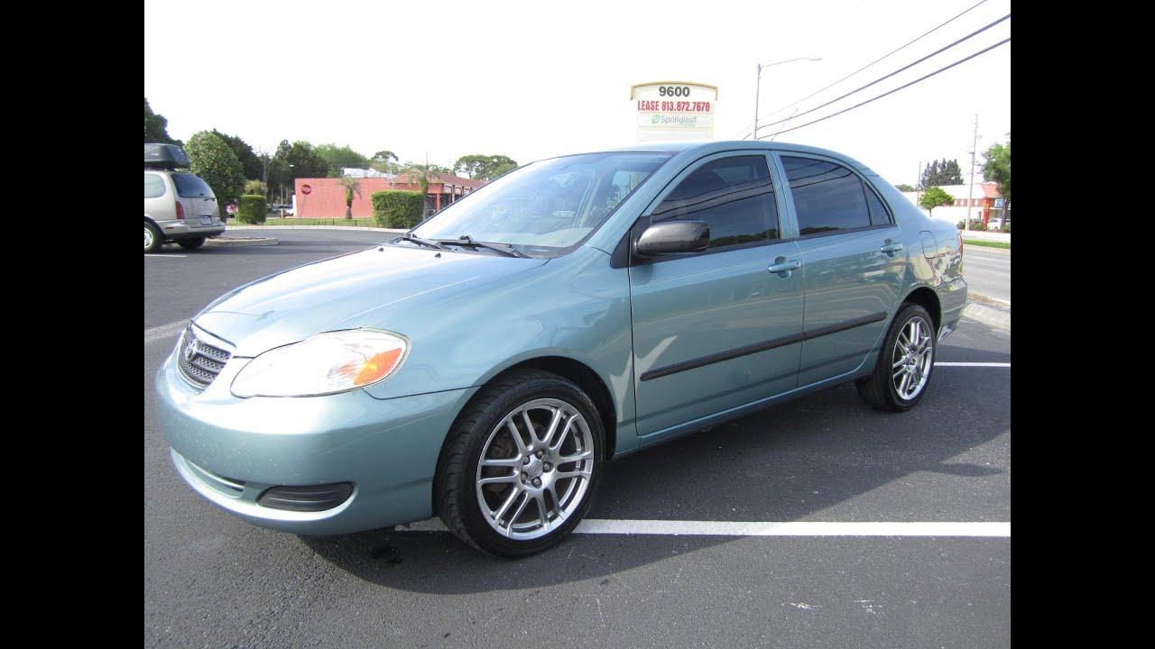 2006 Toyota Corolla For Sale >> SOLD 2005 Toyota Corolla CE VVT-I Auto Meticulous Motors ...