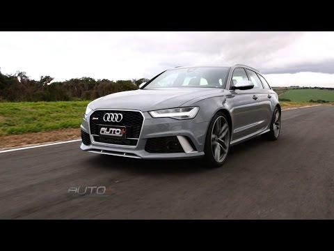 Audi RS6 mostra seu poder de fogo na pista do Auto+