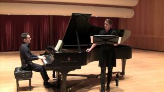 Schubert - Liebesbotschaft with Emily Albrink, soprano and David Taustine, piano