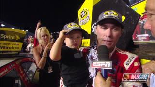 Repeat youtube video Harvick Takes the Victory at Homestead and the 2014 NASCAR Sprint Cup Series Championship