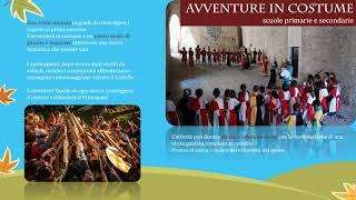 #Video presentazione progetto #scuole del #Castello di Bardi per il 2019