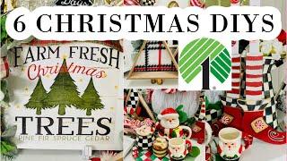 "🎄6 DIY DOLLAR TREE CHRISTMAS DECOR CRAFTS 🎄""I Love Christmas"" ep. 3 Olivia's Romantic Home DIY"