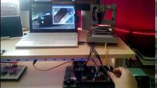 micro cnc machine in use as usb camera part 3 of 3