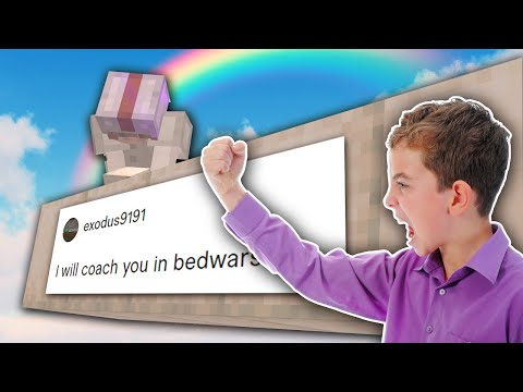 I Hired Another Bedwars Coach on Fiverr and Tested his Patience...
