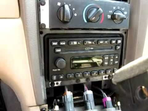 2001 2004 mustang mach 460 factory head unit removal. Black Bedroom Furniture Sets. Home Design Ideas