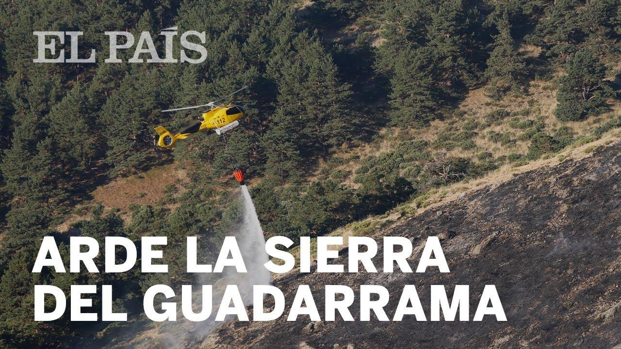 Dos Incendios Amenazan El Parque Nacional De La Sierra Del Guadarrama