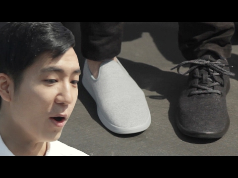 Thumbnail: People Try The World's Most Comfortable Shoes