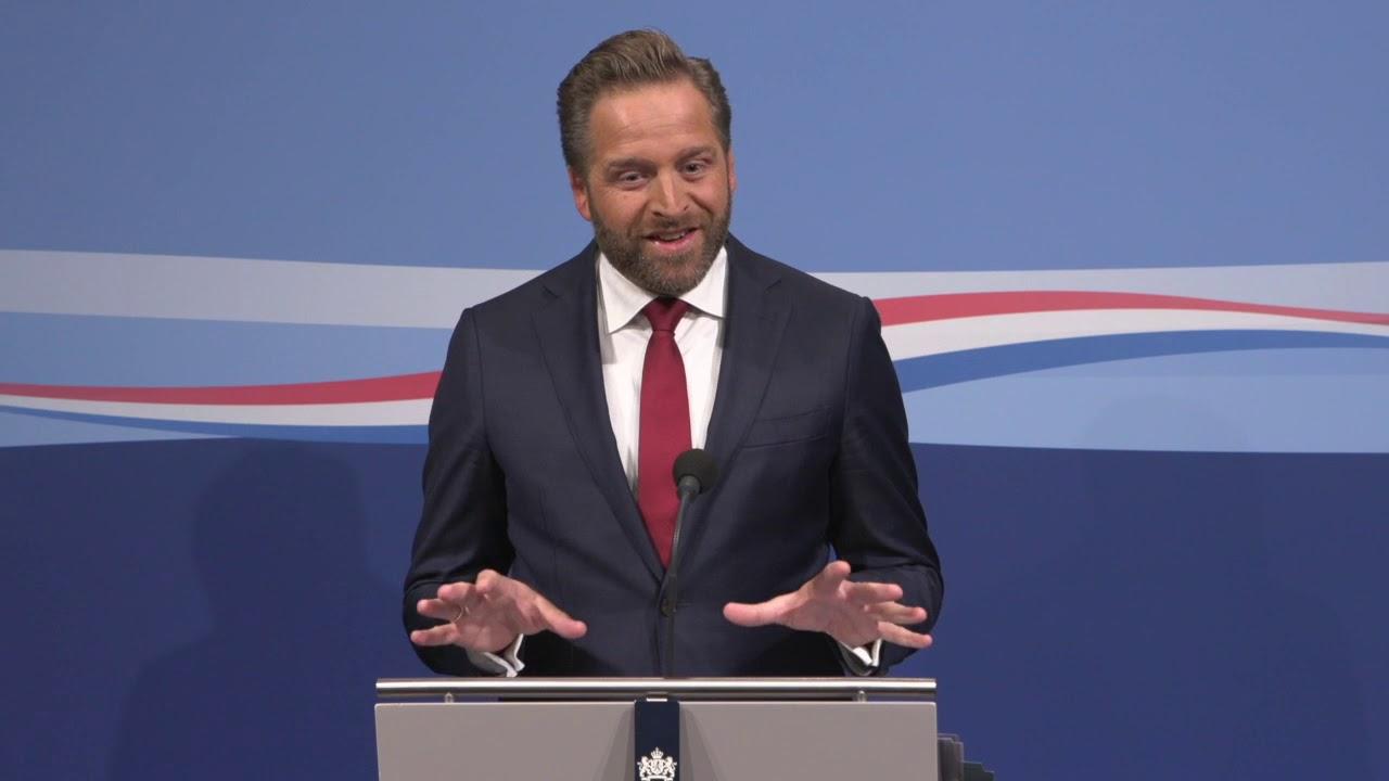 Persconferentie Vicepremier Hugo De Jonge Na Afloop