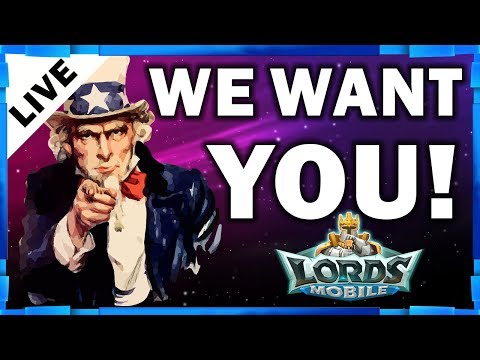 CAD & CAE RECRUITING - GIVEAWAY ACCOUNT OVERVIEW - LORDS MOBILE - MISTER BP GAMING