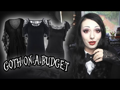 Goth On A Budget - Huge RoseGal Haul!   Toxic Tears
