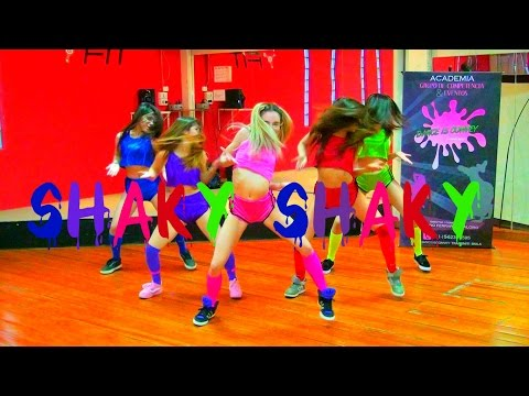 Shaky Shaky - Reggaeton By Dance Is Convey (HD)
