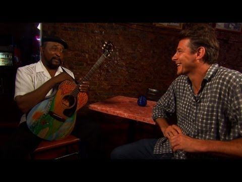 Ty Pennington hits the blues trail - YouTube