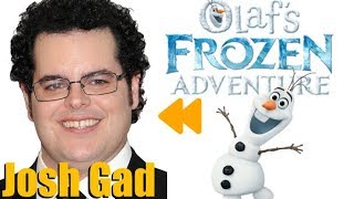 """Olaf's FROZEN Adventure (2017)"" Voice Actors and Characters"