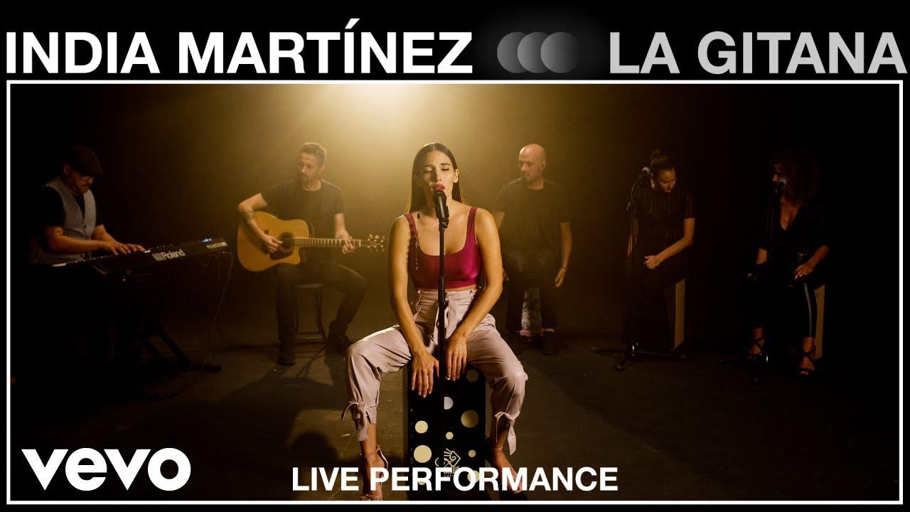 Download India Martinez - La Gitana - Live Performance | Vevo