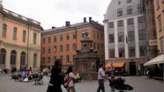 Stortorget in Gamla Stan, Stockholm, Sverige
