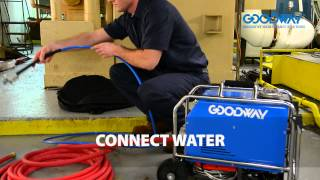 Goodway RAM-PRO-XL Tube Cleaner Featuring TubeGuard Technology