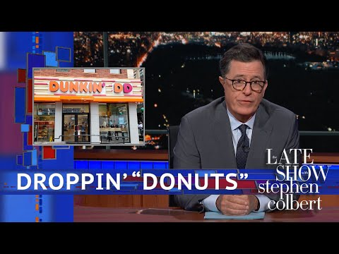 Dunkin' Donuts Is Dropping The 'Donuts'