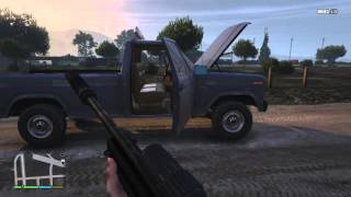 Grand Theft Auto 5 - 1984 Ford F-150 Mod! - REVIEW - GTA 5