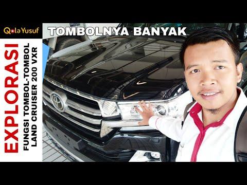 Fungsi Tombol-tombol Toyota Land Cruiser 200 VXR Full Spec Toyota Indonesia