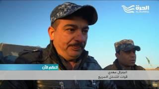 العبادي يعلن انطلاق العمليات العسكرية في غرب الموصل.. والقوات العراقية تسيطر على عدد من القرى