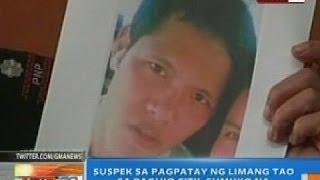 NTG: Suspek sa pagpatay ng 5 tao sa Baguio City, sumuko na