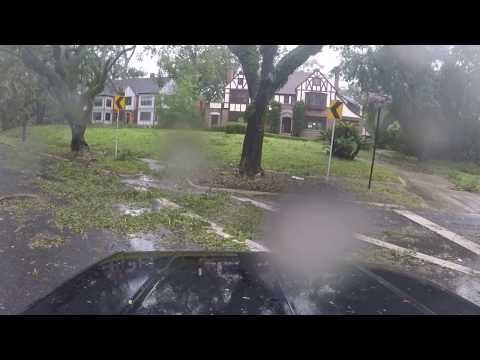 After The Storm: A Ride through Jacksonville, FL During/After Hurricane Irma