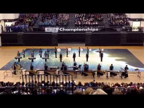 Blue Springs South Winter Percussion - The Sound of My Voice - MCCGA Championships 2015