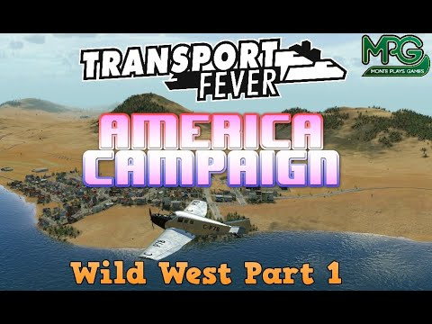 Transport Fever (English) America Campaign Mission 1 Part 1