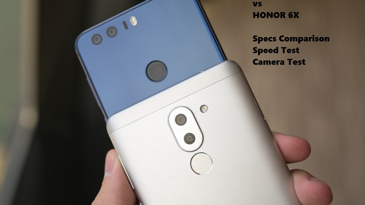 Honor 6X vs Honor 8 - Exclusive Speed and Dual Camera Test ...