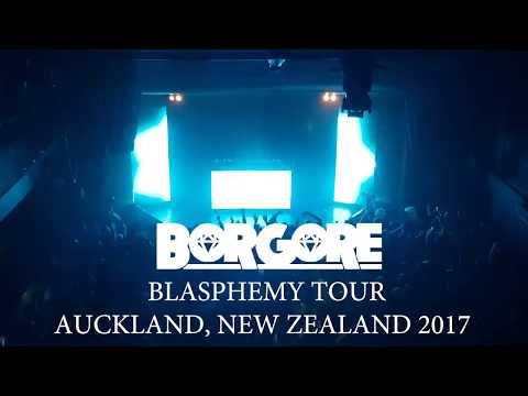 Borgore Blasphemy Tour Auckland, New Zealand 2017