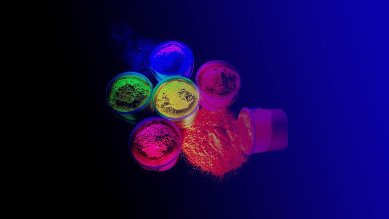 Como hacer un polvo de colores fluorescente andy100 - Como hacer colores ...