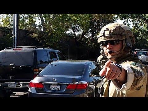San Mateo militarized raid of Menlo Park