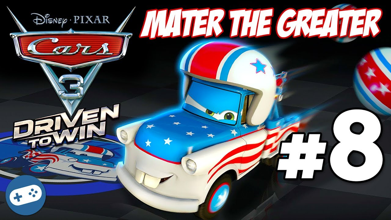 Cars 3 Driven To Win Mater The Greater Gameplay Part 8 Unlock