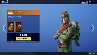 REX Skin is BACK! - Fortnite Item Shop 20th of May (FORTNITE BATTLE ROYALE)