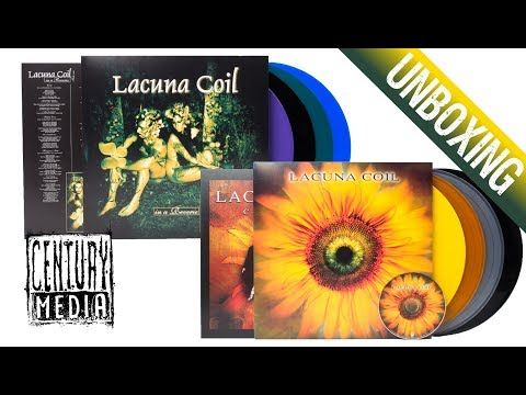 LACUNA COIL - Re-Issues 2019 (Unboxing)