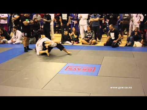 NZ Grappler - Jack Clifford vs Michael Parker
